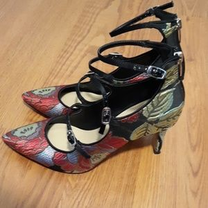 Marc Fisher Mary Jane Style High Heels Size 7 1/2